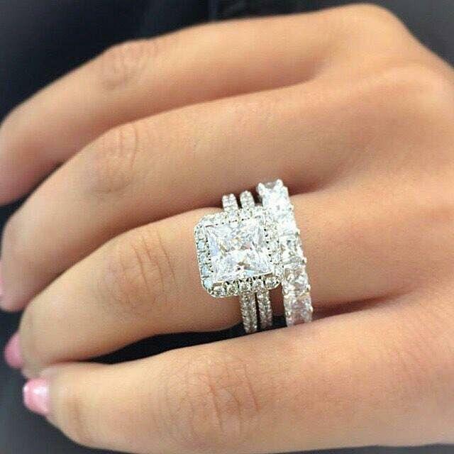 Anelli ring diamanti
