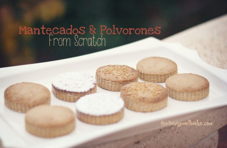 Mantecados and Polvorones: Typical Spanish Christmas Cookies - Powered by @ultimaterecipe