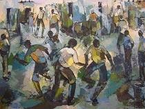 African Art by South African Artist Welcome Mandla Koboka   Fine Art Portfolio