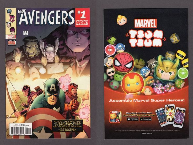 Avengers #1.1 Marvel Now 2017 NM Mark Waid 1st Print New Unread + Digital
