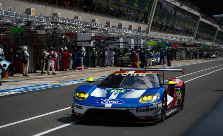 Ford Takes Pole in GTE Class at Le Mans, Immediately Wishes It Hadn't - Photo Gallery of Car News from Car and Driver - Car Images - Car and Driver