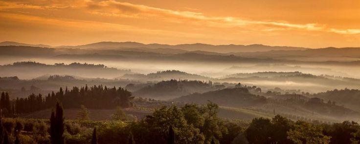 """Tuscany Sunrise"" by Nick Powell https://gurushots.com/nickpowellphotography/photos?tc=2f714573798c4445d3810149174a9e47"