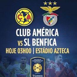 Resultado América vs Benfica en Vivo - International Champions Cup 2015   FutAdiccion TV - Partidos de hoy fútbol en Vivo