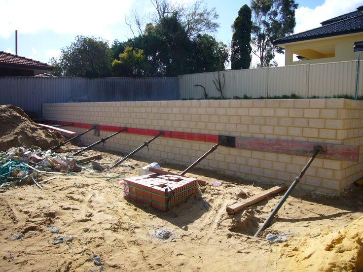 Karrinyup - 2408 - Brick build up - before site - earthworks