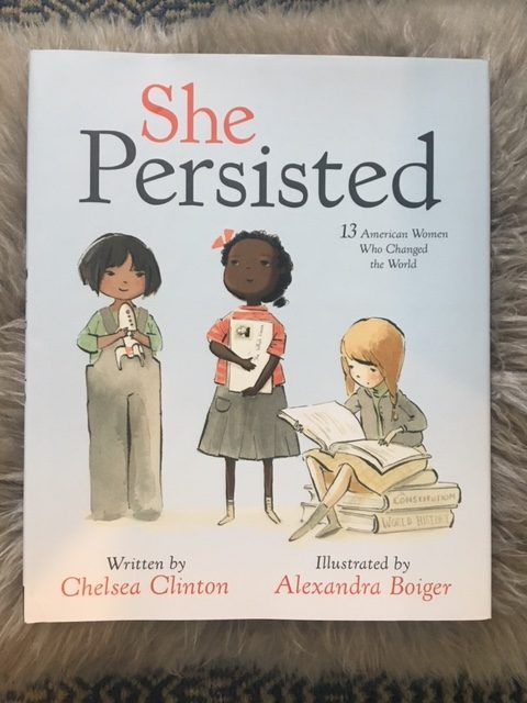 """Chelsea Clinton's """"She Persisted"""" a must-read for all ages"""