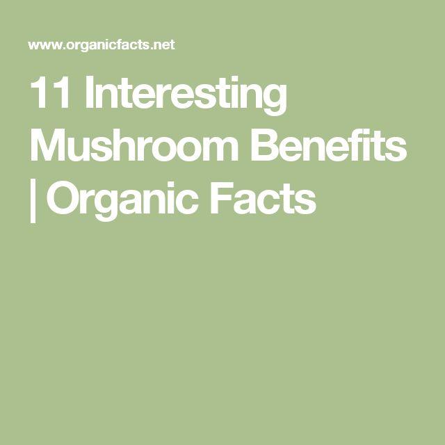 11 Interesting Mushroom Benefits | Organic Facts