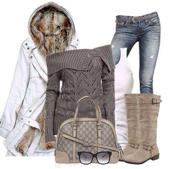 Stylish 2014 Winter Outfit !