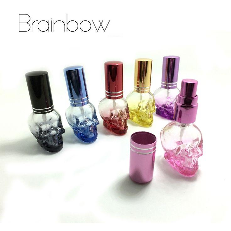 2.31$  Buy here - Brainbow 1pc 8ml 3D Skullcandy Perfume Bottle Mini Portable Travel Refillable Perfume Atomizer Bottle For Spray Scent Pump Case   #bestbuy