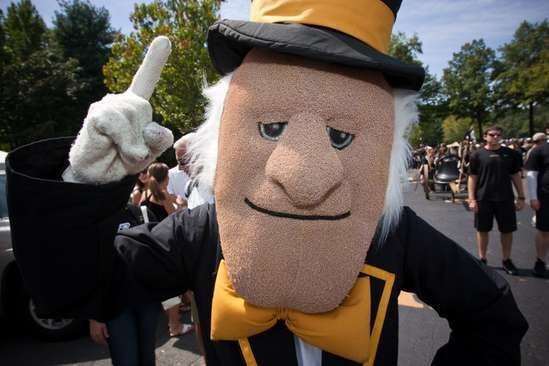 Wake Forest University – Demo Deacon These 30 Bizarre Sports Mascots Will Definitely Not Entertain You • Page 3 of 6 • BoredBug
