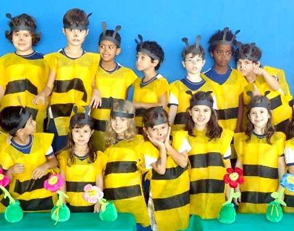 fantasias de abelhas feitas com tnt