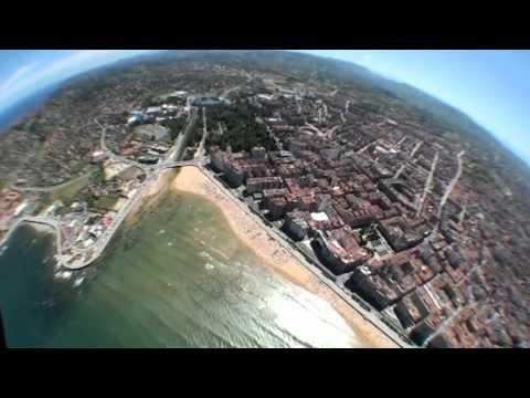 Gijón desde el cielo, impresionante video del Festival Aereo Ciudad de Gijón