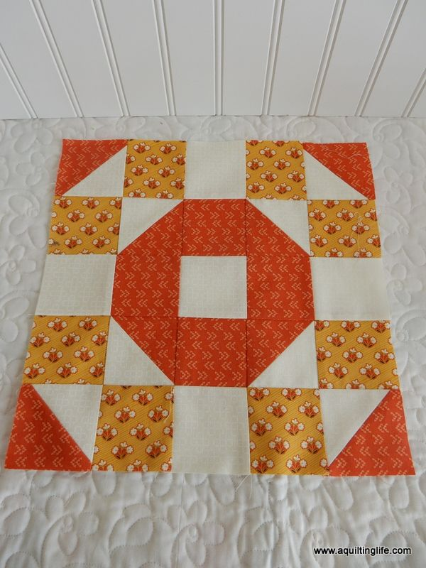 Quilting Life 2018 BOM | A Quilting Life - a quilt blog free block of the month #blockpattern #quiltblock