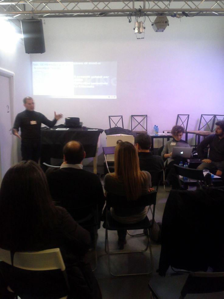 Panel del pomeriggio: Visual Storytelling con Gianni Barbon | Mod-o #EC13 #coworking