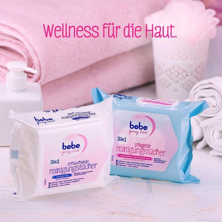Unsere #Reinigungstücher entfernen selbst wasserfestes Make-up – und sind trotzdem sanft zur Haut.  #bebeyoungcare #wipes #ungeschminkt