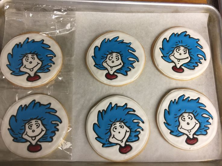 The twins birthday cookies