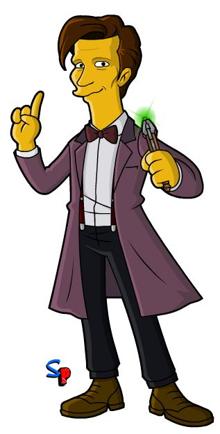 Springfield Punx: A WHOsday; Series 7B 11th Doctor (1)