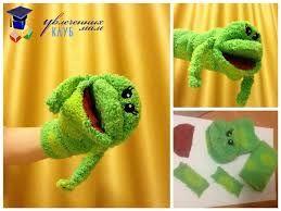 Картинки по запросу выкройка лягушки для кукольного театра