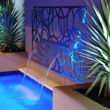 Zanada - Metal Laser Cut Screens - Outdoor Screens & Wall Features - Watergarden Warehouse