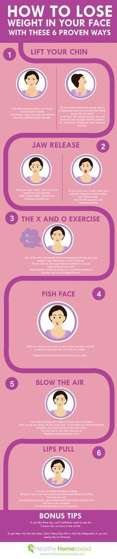 How to Lose Weight in Your Face With These 6 Proven Ways @ReTweetNGro