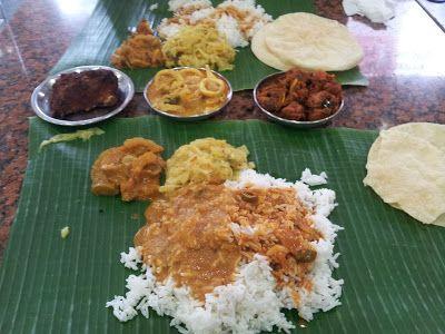 Eating All the Way!: Karu's Indian Banana Leaf Rice
