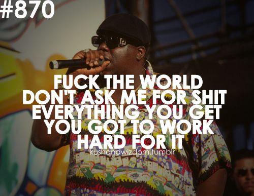 Fuck the world today lyrics