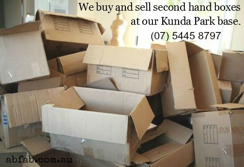 We buy and sell boxes
