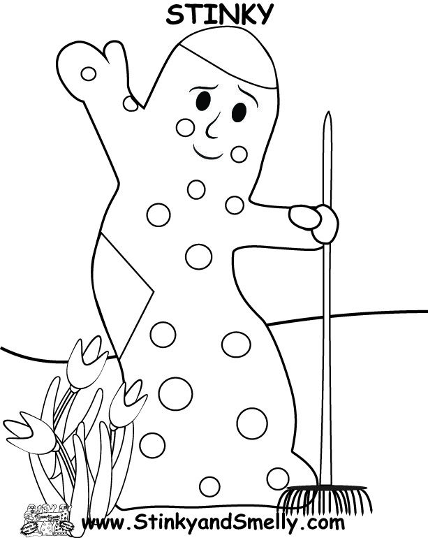 Stinky And Dirty Coloring Pages Character Coloring Pages