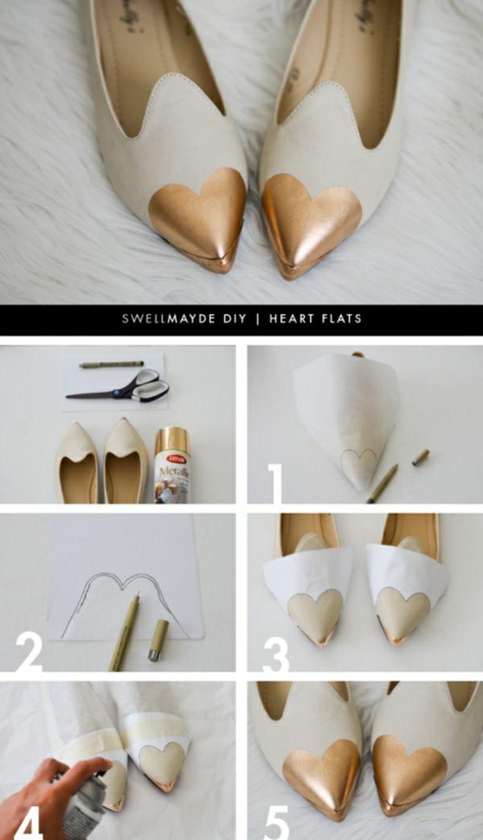 Schuhe selber machen – pfiffige DIY Ideen für Ihre Sommerschuhe