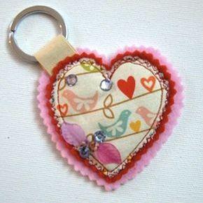 "Key Ring ""Hearts"" | Hipbazar.com"
