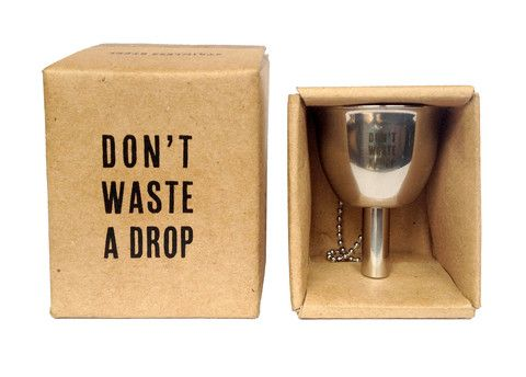 Izola Flask Funnel Don't waste a drop www.westgoods.co