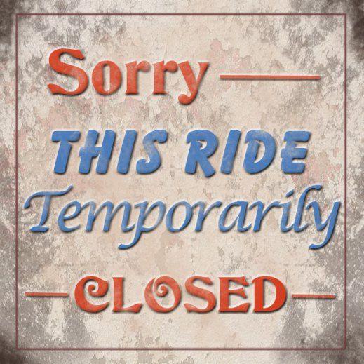 Disneyland Resort: Ride closures & Refurbishments.