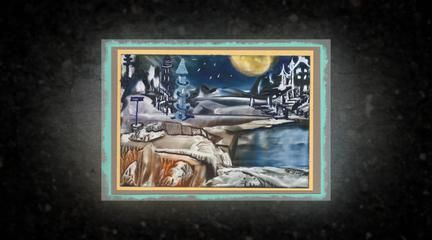 """A variety of A6, 4""""x 6"""" paintings done with a travel iron and beeswax. I call this method The Hot & Skinny of Beeswax painting because a travel iron is used with a thin layer of beeswax. This is not like the traditional method of encausutic painting."""