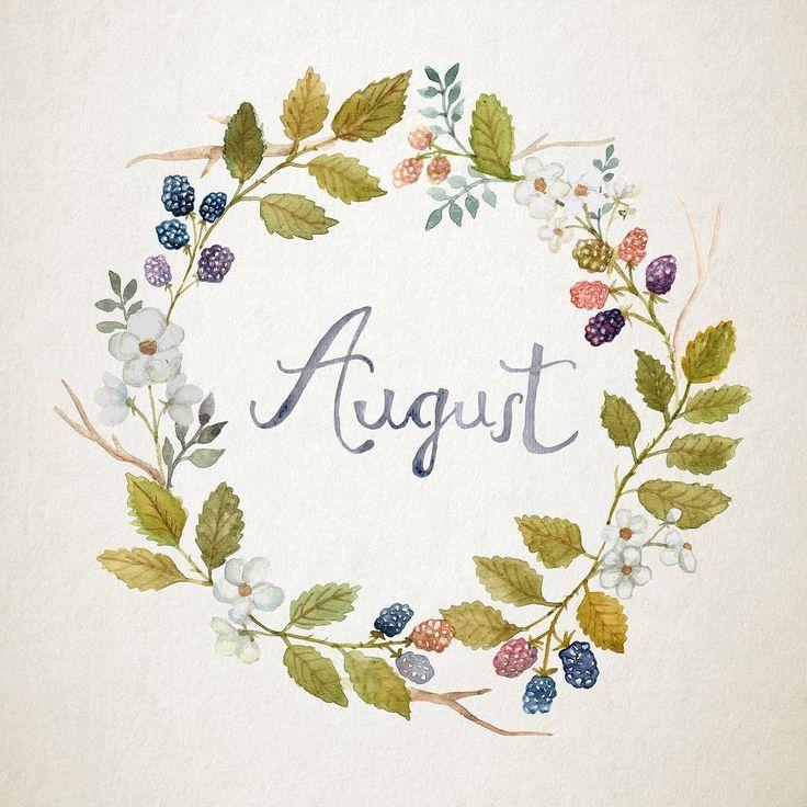 Printable Monthly Calendar 2019 - Nature Art Floral Wreath ...