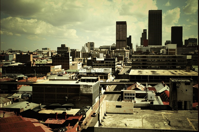 #Johannesburg skyline