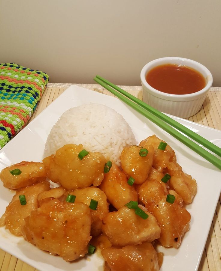 Pressure Cooker Chinese Take-Out Sweet 'N Sour Chicken Image