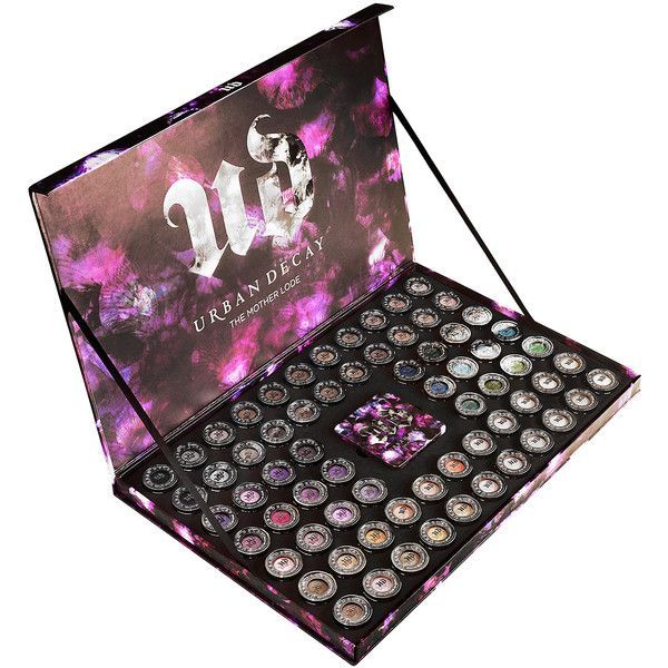 Urban Decay The Mother Lode Shadow Vault ($595) ❤ liked on Polyvore featuring beauty products, makeup, eye makeup, eyeshadow, palette eyeshadow, urban decay eye shadow, urban decay, urban decay eye makeup and urban decay eyeshadow