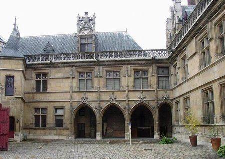 Paris 5ème - Hôtel de Cluny abritant le musée du Moyen-Âge
