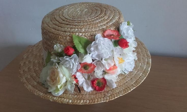 VALENTINO icon of Canotier Hat Celebrities Runway Dress Jumpsuit Party Flowers #Handmade #PartyAutumnWinterEveryDayGoodLookWedding