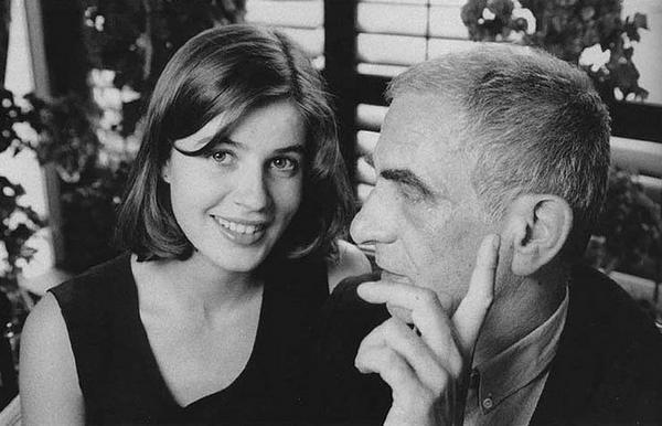 Irene Jacob & Krzysztof Kieslowski