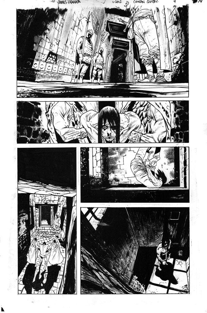 Conan issue 4 page 14 by JHarren.deviantart.com on @DeviantArt