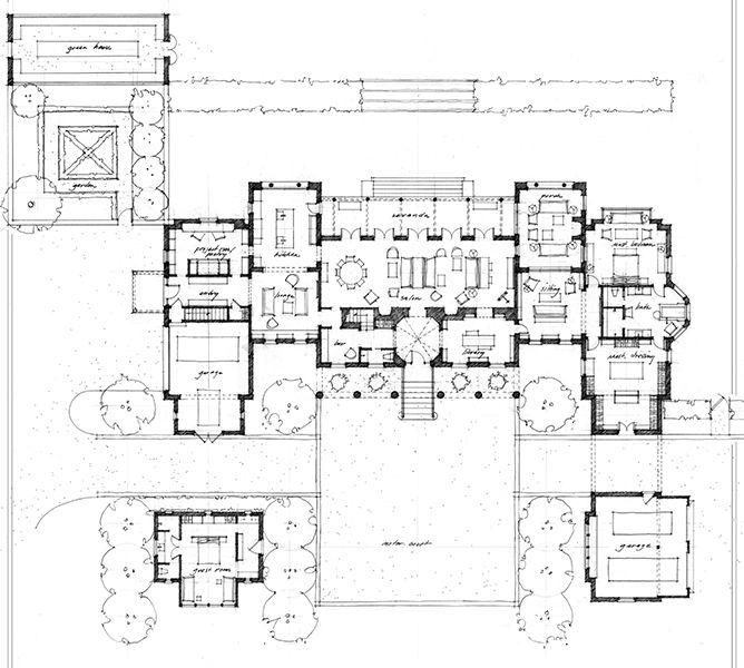 Die besten 25+ Herrenhaus grundrisse Ideen auf Pinterest ...
