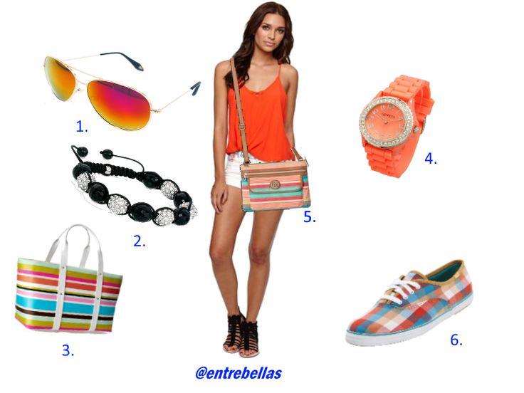 Look muy veraniego para las más jóvenes de la casa http://serfemeninas.blogspot.com/