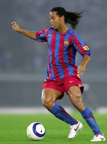 Image result for ronaldinho barcelona