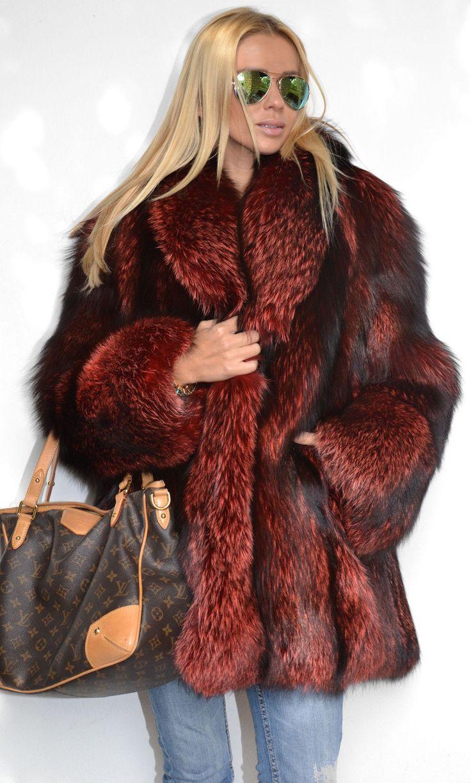 Italian Royal Saga Fox Silver Fur Coat Jacket Like Sable Mink Chinchilla Lynx   eBay
