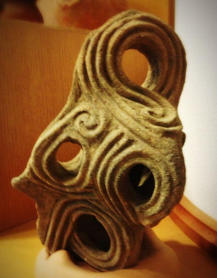 a parts of Jomon-Doki from Yamanashi Pref. Japan 縄文土器, 山梨県, 日本