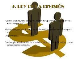 Siendo líder de una categoría se procura dividirla en varias, utilizando marcas diferentes para cada una de las categorías que surjan.