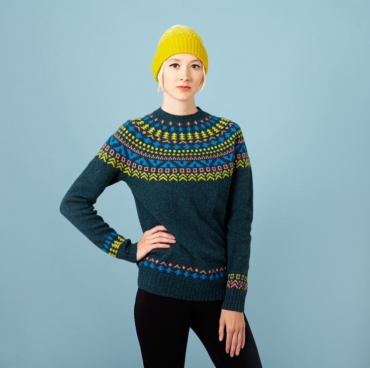Tipi Sweater – Slate Donna Wilson
