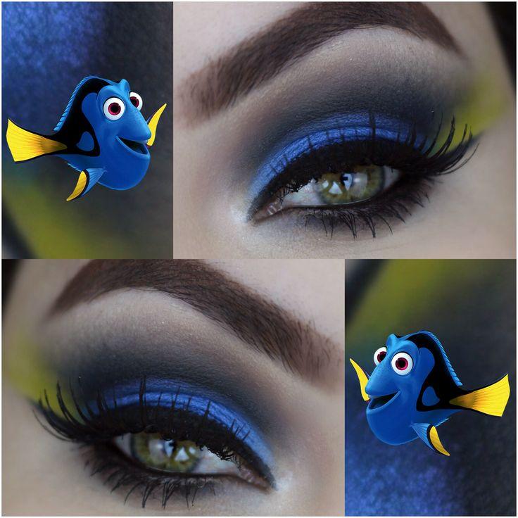 Dory Makeup https://www.youtube.com/watch?v=PLhgthNDpSE