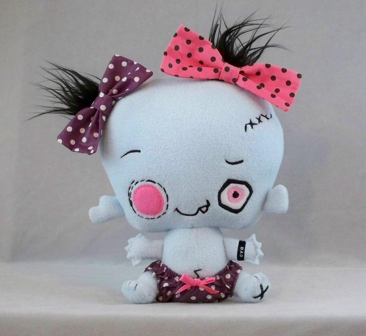 Zombie Baby #Vamplets #Plush