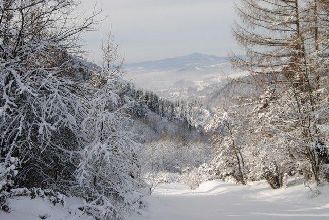 #Spacer #Wąwóz #Homole #wycieczki #góry #zima
